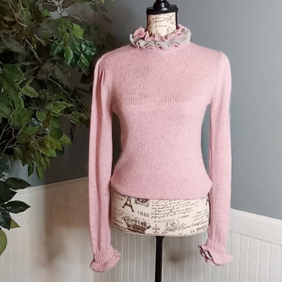 Tally-Ho Vintage Silk Blend Sweater